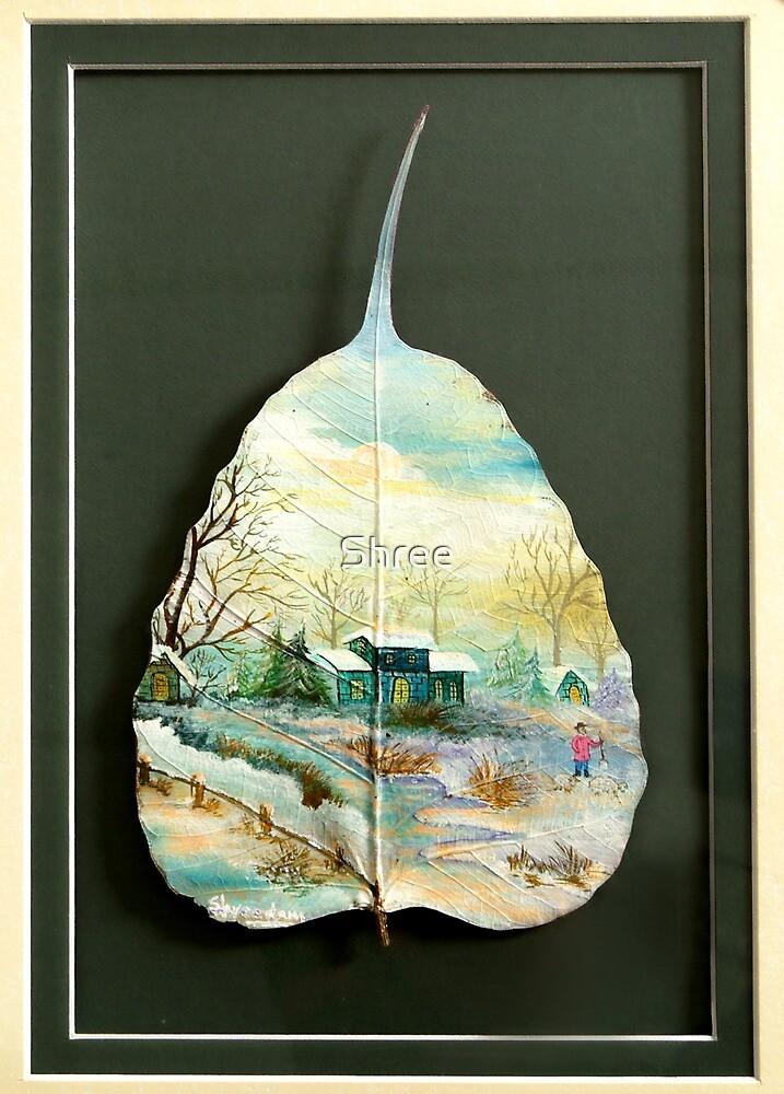 White Winter by Shree