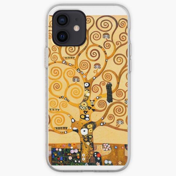 Gustav Klimt - The tree of life iPhone Soft Case
