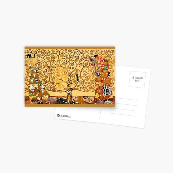 Gustav Klimt - The tree of life Postcard
