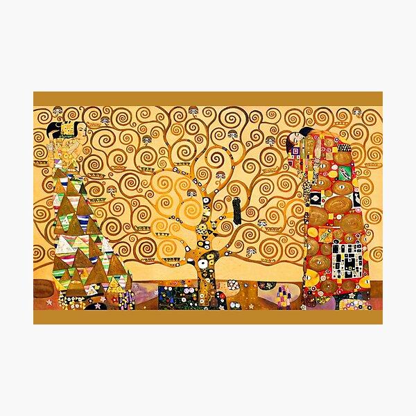Gustav Klimt - The tree of life Photographic Print