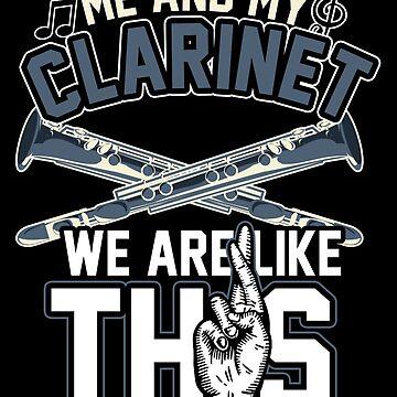 Clarinet friends by GeschenkIdee