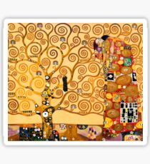 Gustav Klimt - The tree of life Sticker