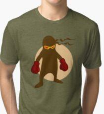 Ninja by Chillee Wilson Tri-blend T-Shirt