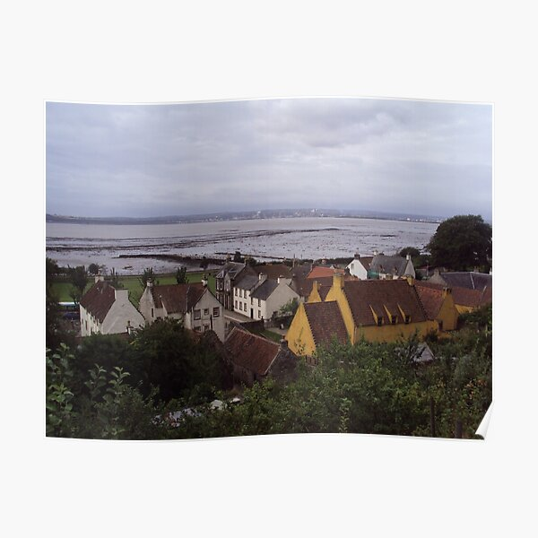 A View of Culross and the Firth of Forth Poster