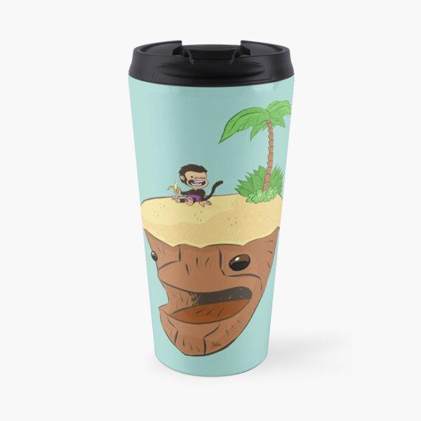 Monkey and Island, simplified Travel Mug