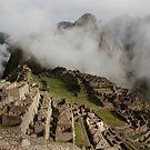 Machu Picchu in the Clouds by tpfmiller