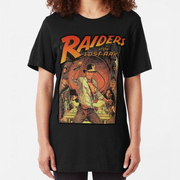 funny raider movies Slim Fit T-Shirt