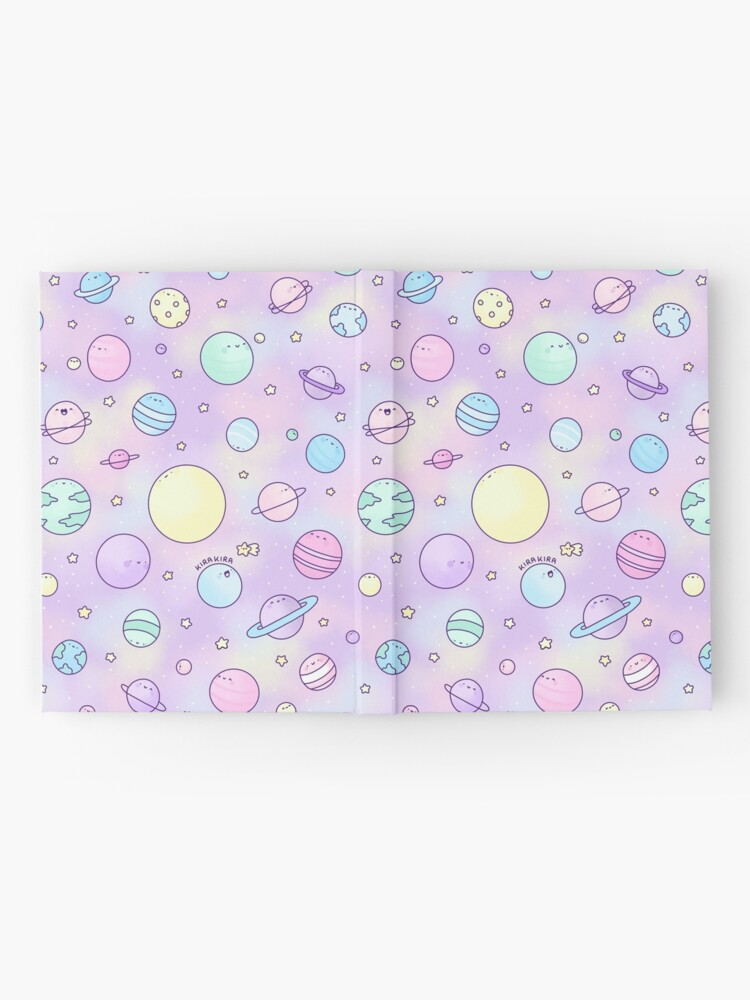 Alternate view of Pastel Planets Doodle Hardcover Journal