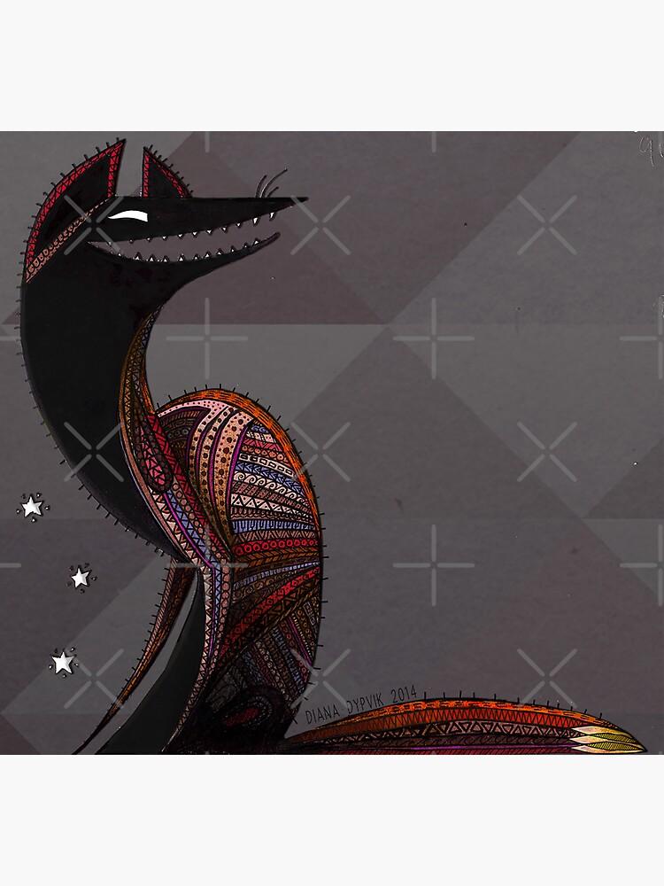Oaxacan Coyote by DPKLPS