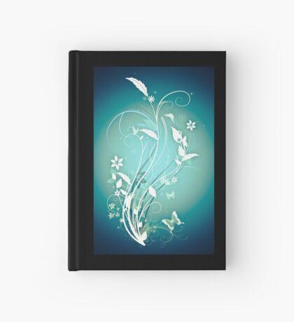 The Butterfly Garden Blue Hardcover Journal