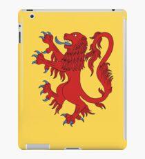 Lion Rampant Gules iPad Case/Skin