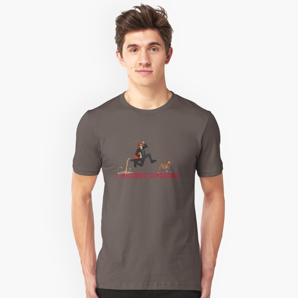 The Postal Dude And Champ T Shirt By Rubenlopezart Redbubble