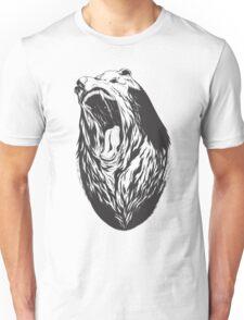 Roaring bear Unisex T-Shirt