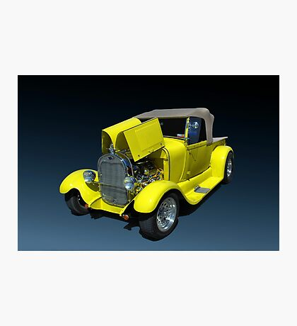1929 Ford Model A Custom Pickup Truck Photographic Print