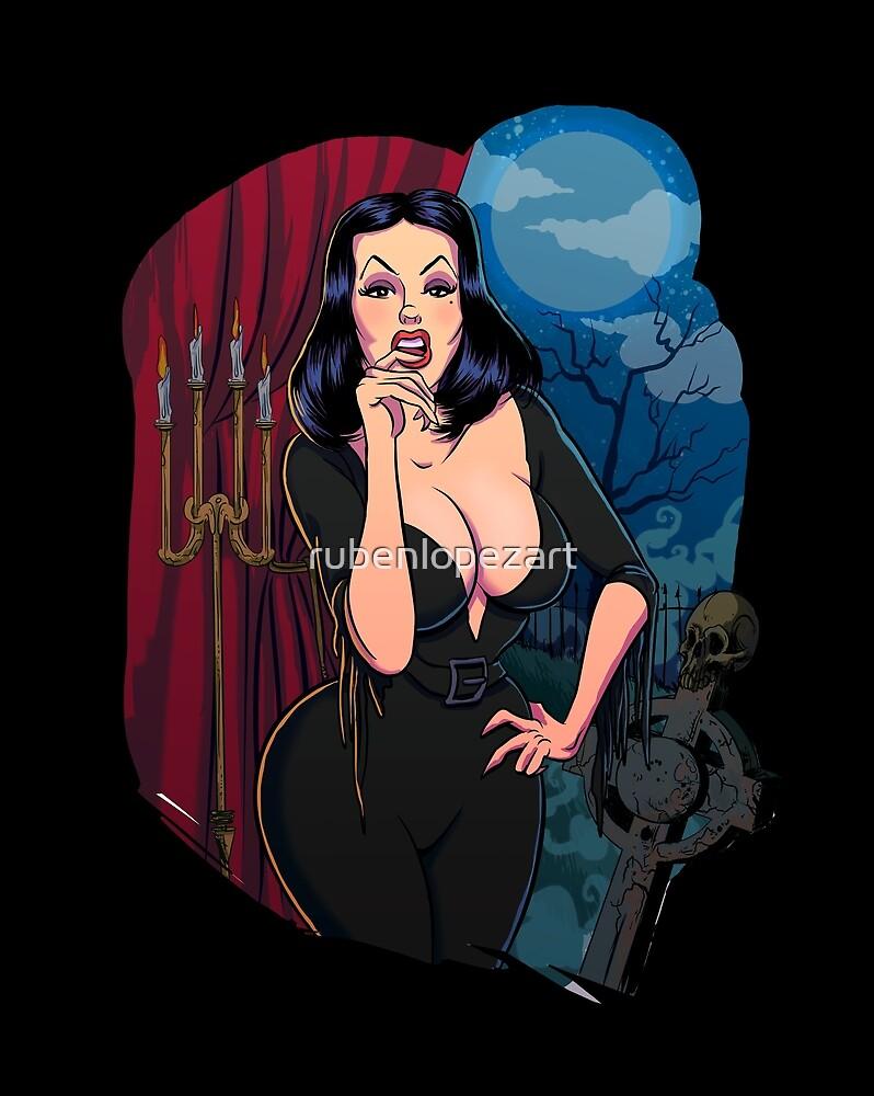 Vampira by rubenlopezart