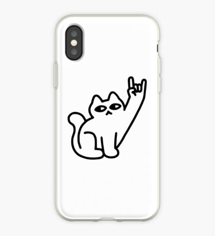 Cats Like Metal iPhone Case