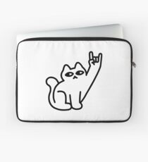 Cats Like Metal Laptop Sleeve