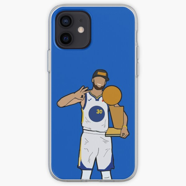 Steph Curry Championship Trophy - Golden State Warriors iPhone Soft Case