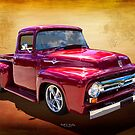 1956 Eff Truck by K and K Hawley