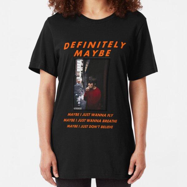Oasis Live forever  Slim Fit T-Shirt
