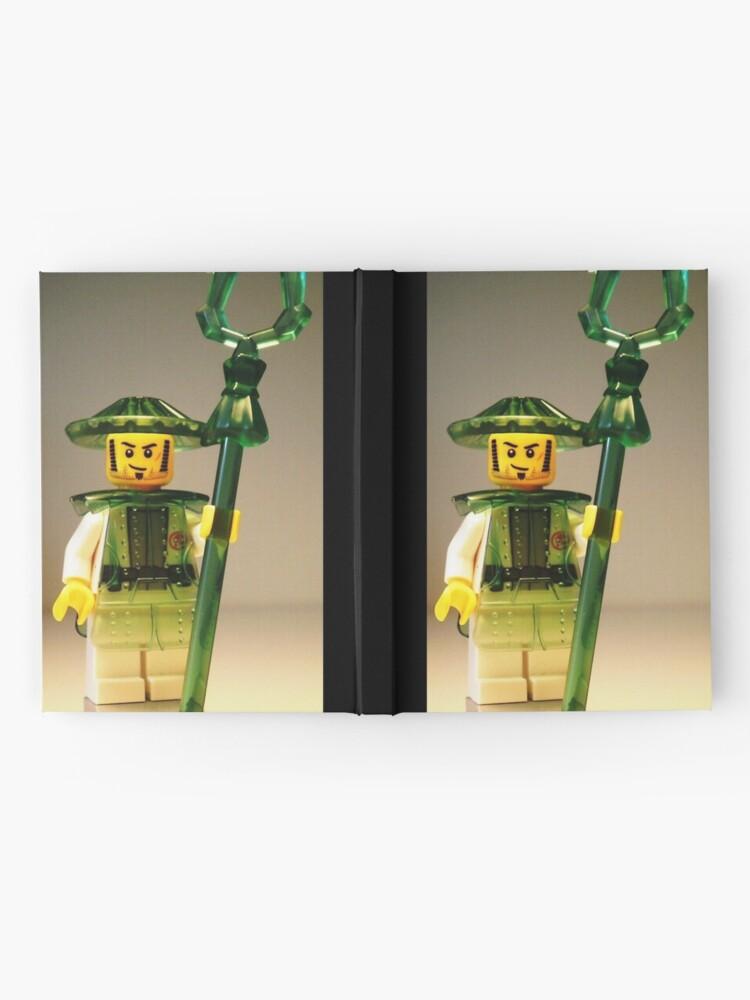 Alternative Ansicht von Ching Dynasty Chinese Warrior Custom Minifigure Notizbuch