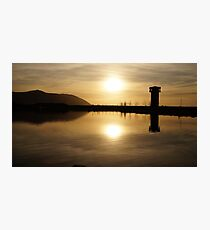The Wetlands at Sunset Photographic Print