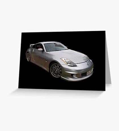 Nissan 350Z Greeting Card