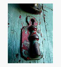 locked door Photographic Print