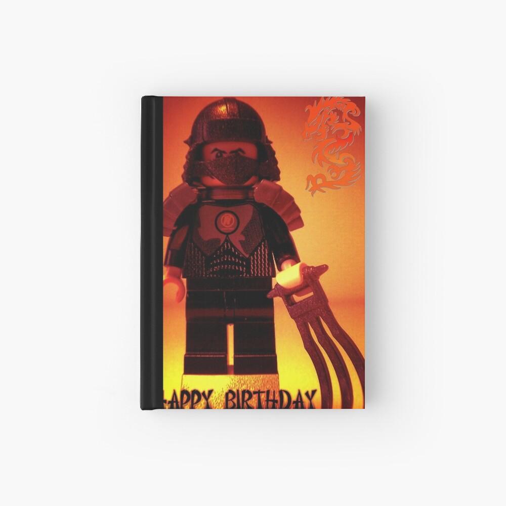 Happy Birthday Greeting Card TMNT Teenage Mutant Ninja Turtles Master Shredder Custom Minifig Notizbuch