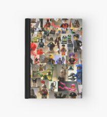 Custom Minifigure Collage  Notizbuch