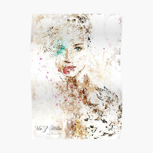 Jen Splatter Poster