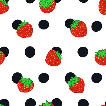 Polka Dots and Strawberry by Eng-Sun