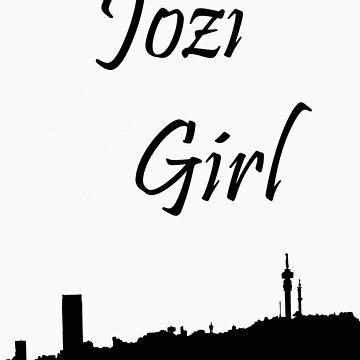 Jozi girl with southern cross by Sprinkly