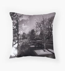 Bloom trees in Carlton Throw Pillow