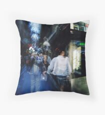 Lunchtime Mosiac Throw Pillow