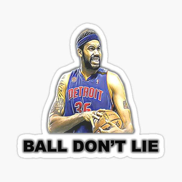 Rasheed Wallace - Ball Don't Lie Sticker