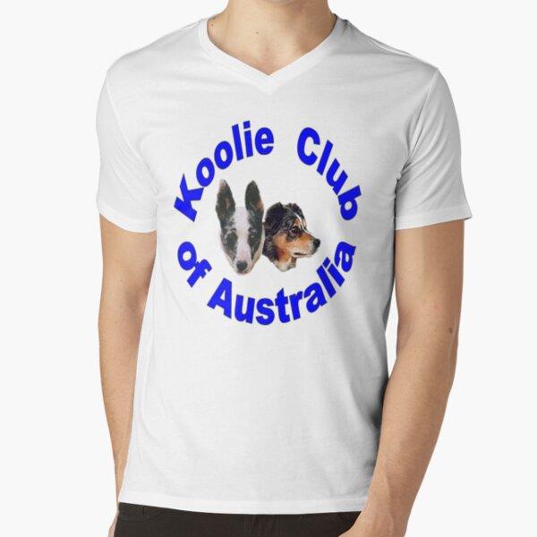 KCA Colour Logo V-Neck T-Shirt