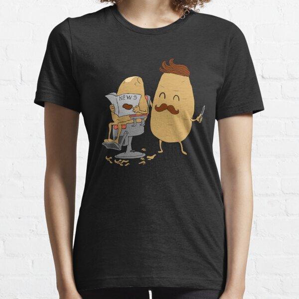 Peluquero lindo de la patata Camiseta esencial