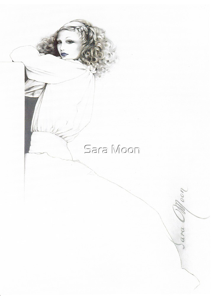"""""""Rebecca"""" Oil on Canvas by Sara Moon"""