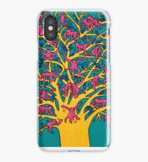 Keith Haring - Colorful tree iPhone Case/Skin