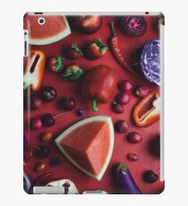 Red and purple food iPad Case/Skin
