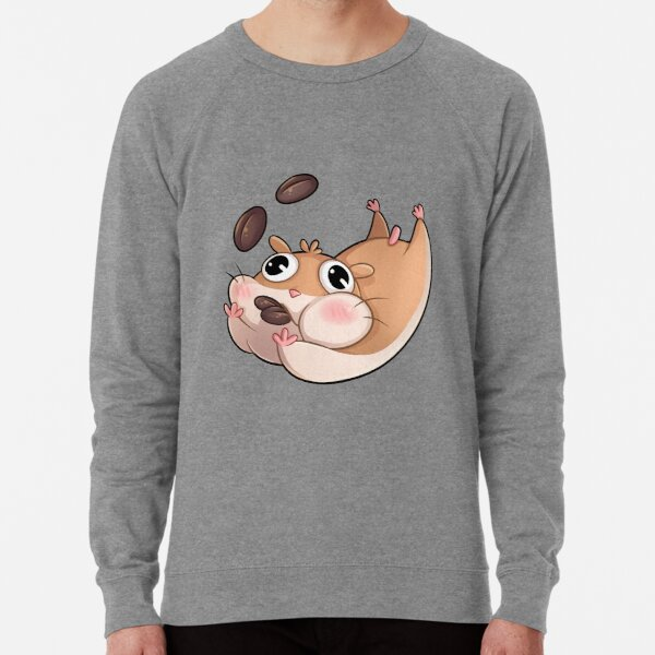 Kaffeehamster Leichter Pullover