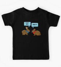 Mein Hintern tut der Kunst weh Lustige Osterhasenliebhaber Kinder T-Shirt
