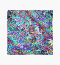 colour chaos pattern Scarf
