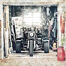 Trike Garage von coolArtGermany