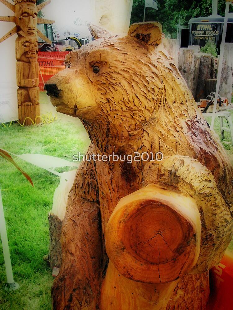 Chainsaw Bear by shutterbug2010