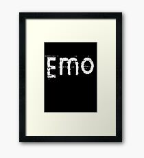 Emo by Chillee Wilson Framed Print