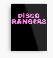 Disco Rangers by Chillee Wilson Metal Print