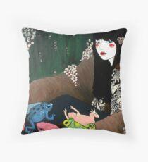 I Am An Endangered Species Throw Pillow