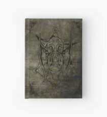 Cthulhu - Lovecraft - Old leather design Hardcover Journal